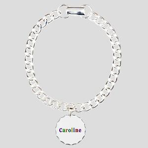 Caroline Shiny Colors Charm Bracelet