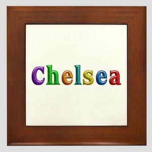 Chelsea Shiny Colors Framed Tile