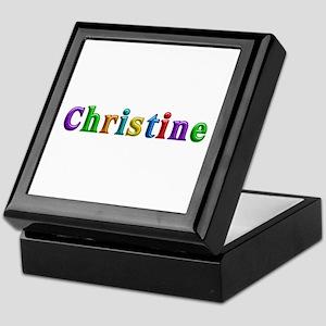 Christine Shiny Colors Keepsake Box