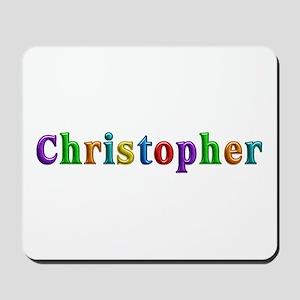 Christopher Shiny Colors Mousepad