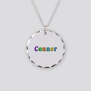 Conner Shiny Colors Necklace Circle Charm