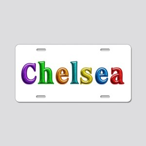 Chelsea Shiny Colors Aluminum License Plate