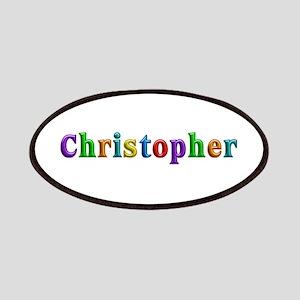Christopher Shiny Colors Patch