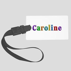Caroline Shiny Colors Large Luggage Tag