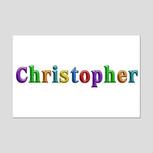 Christopher Shiny Colors Mini Poster Print