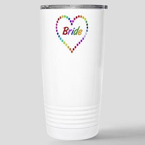 Rainbow Bride Stainless Steel Travel Mug