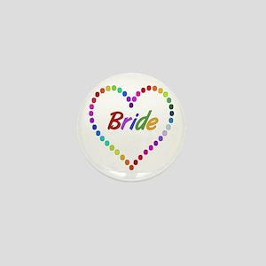 Rainbow Bride Mini Button