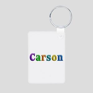 Carson Shiny Colors Aluminum Keychain