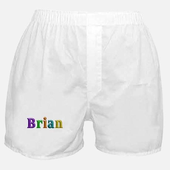 Brian Shiny Colors Boxer Shorts