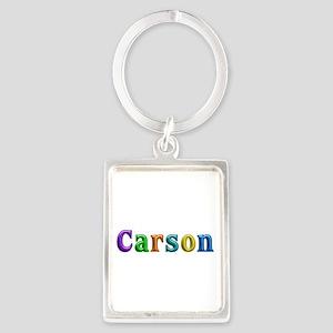 Carson Shiny Colors Portrait Keychain