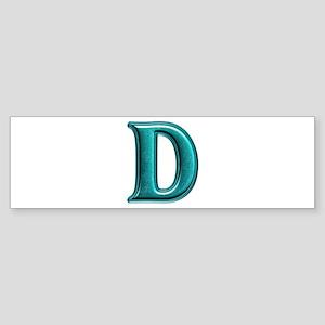 D Shiny Colors Bumper Sticker