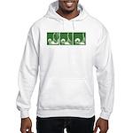 Green Thrust Hooded Sweatshirt