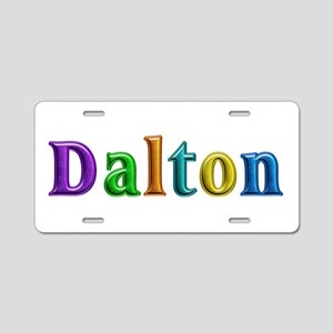 Dalton Shiny Colors Aluminum License Plate