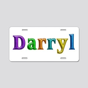 Darryl Shiny Colors Aluminum License Plate