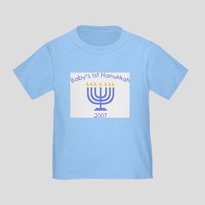 Baby's 1st Hanukkah Toddler T-Shirt