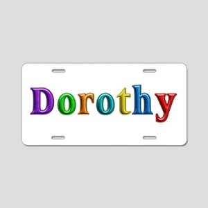 Dorothy Shiny Colors Aluminum License Plate