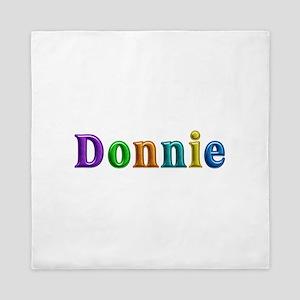 Donnie Shiny Colors Queen Duvet