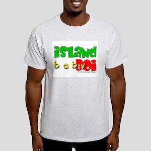 Island Baby Boi Ash Grey T-Shirt