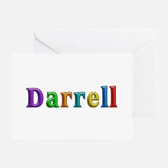 Darrell Shiny Colors Greeting Card