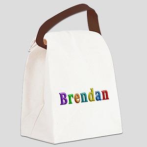 Brendan Shiny Colors Canvas Lunch Bag