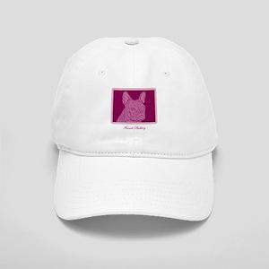 French Bulldog Rec (purple) Cap