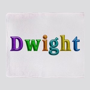 Dwight Shiny Colors Throw Blanket