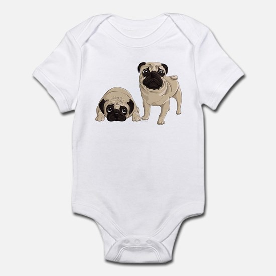 Pugs Infant Bodysuit
