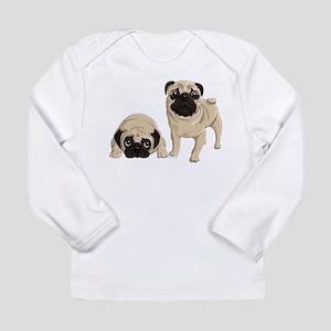Pugs Long Sleeve Infant T-Shirt