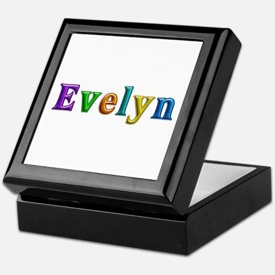 Evelyn Shiny Colors Keepsake Box