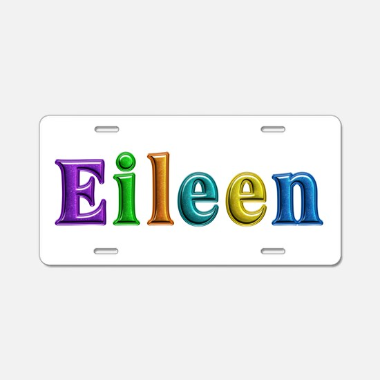 Eileen Shiny Colors Aluminum License Plate