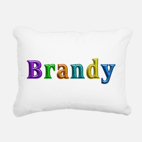 Brandy Shiny Colors Rectangular Canvas Pillow