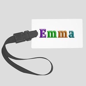 Emma Shiny Colors Large Luggage Tag