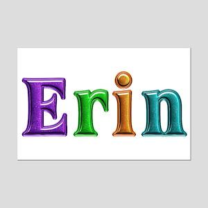 Erin Shiny Colors Mini Poster Print