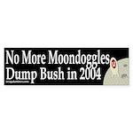 No More Moondoggles Bumper Sticker