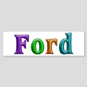 Ford Shiny Colors Bumper Sticker