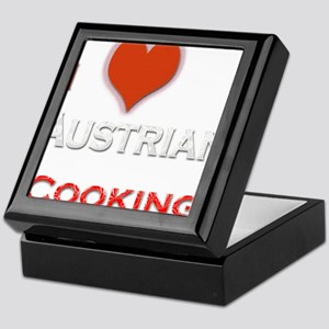 I Love Austrian Cooking Keepsake Box