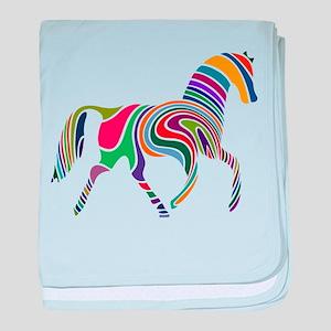 Cute Horse baby blanket