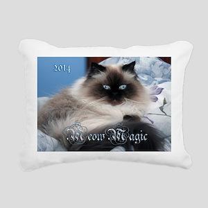 2014 Coco Calendar Cover Rectangular Canvas Pillow