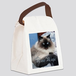 2014 Coco Calendar Cover Canvas Lunch Bag