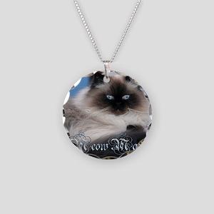2014 Coco Calendar Cover Necklace Circle Charm