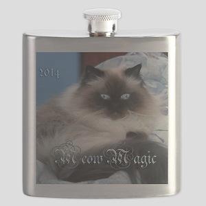 2014 Coco Calendar Cover Flask