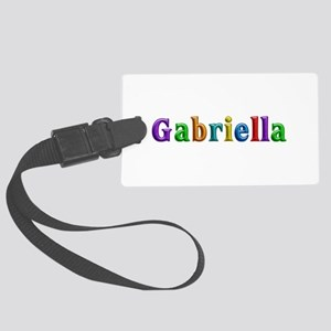 Gabriella Shiny Colors Large Luggage Tag