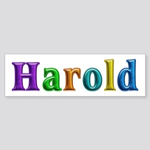 Harold Shiny Colors Bumper Sticker