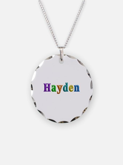 Hayden Shiny Colors Necklace