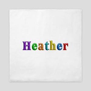 Heather Shiny Colors Queen Duvet
