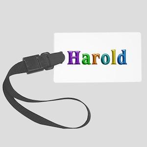 Harold Shiny Colors Large Luggage Tag