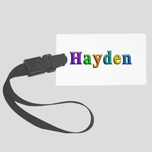 Hayden Shiny Colors Large Luggage Tag