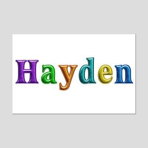 Hayden Shiny Colors Mini Poster Print