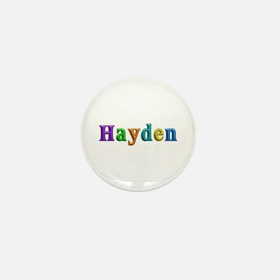 Hayden Shiny Colors Mini Button