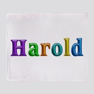 Harold Shiny Colors Throw Blanket